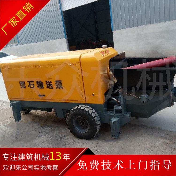 促销15型混凝土输送泵 河北60地泵生产厂家 30细石砂浆泵进口电机