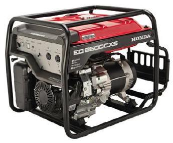 本田汽油豪华型5KW电启发电机EG6500CXS图片