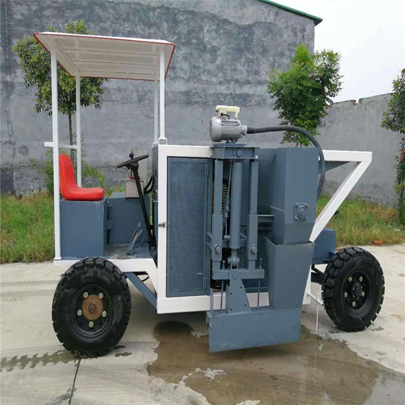 達沃 路牙石生產機 全自動路緣石滑模成型機 邊溝攤鋪機 廠家直銷
