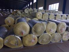 创恒供应40厚玻璃棉卷毡离心玻璃棉 玻璃棉厂家