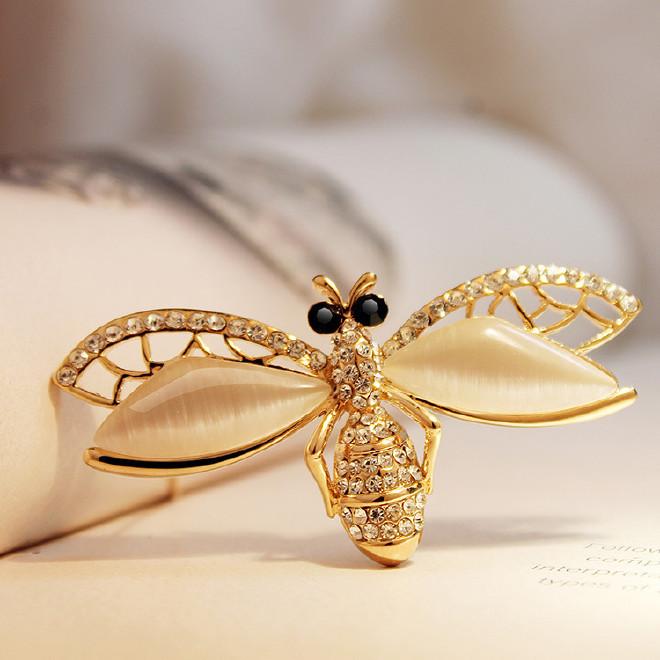 EVA颐娲蜜蜂胸针儿童韩国拼图高端唯美百搭恐龙品牌镂空图片