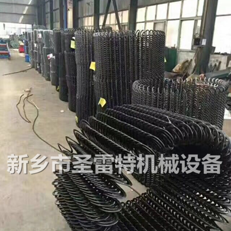 圣雷 應管徑100吸糧機彈簧葉片 75型螺旋葉片 車載抽糧機螺旋彈簧示例圖2