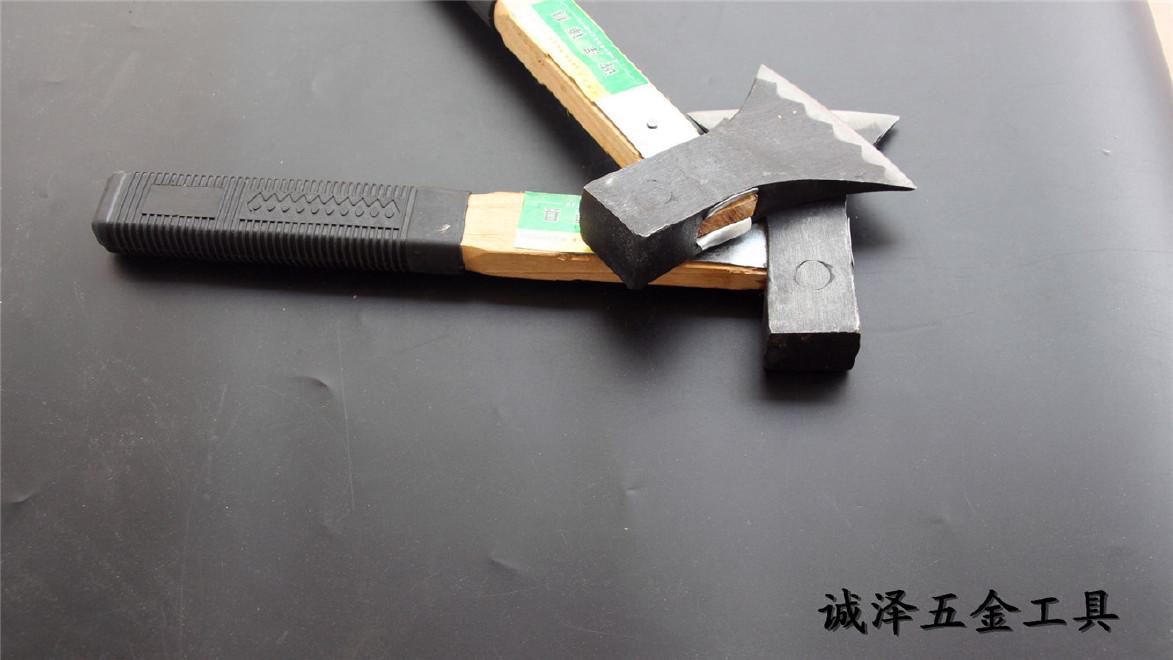 厂家直销批发建筑装饰五金工具诚泽牌烤蓝加固斧子1.8斤2.0斤示例图1