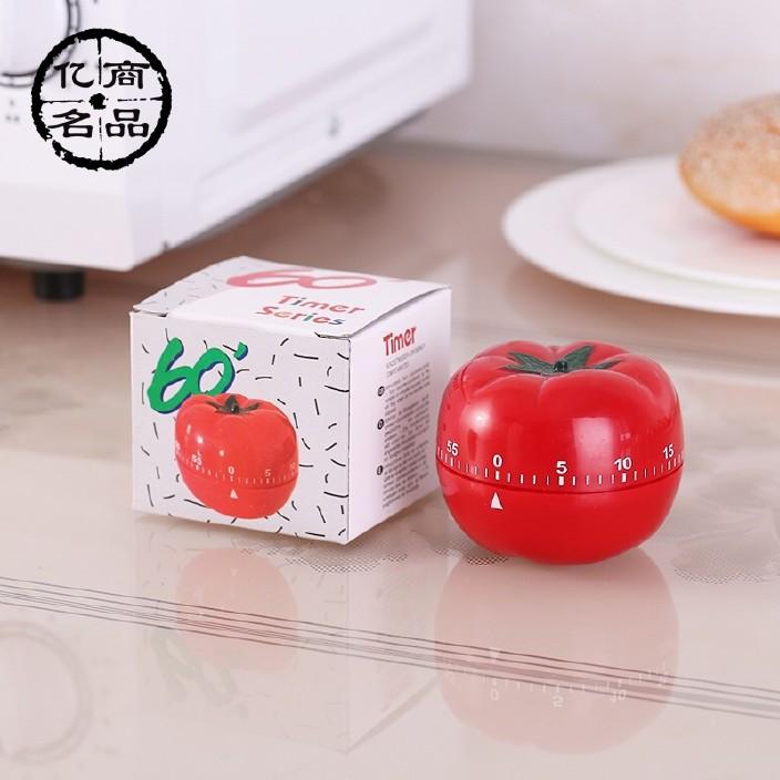 創意廚房 小商品批發 西紅柿定時器 廚房定時器 燒湯計時器圖片
