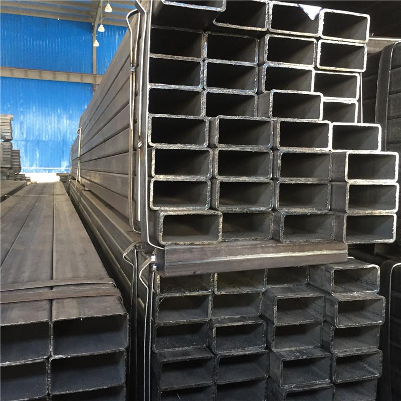 矩形管 长方形钢管 黑色 扁方管 Q345B