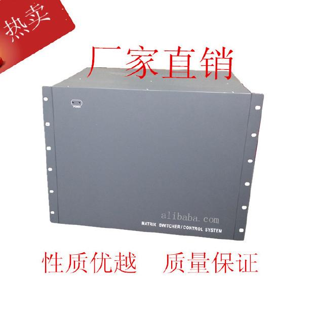 AV矩阵208进16出音视频矩阵主机切换器专?#30340;?#25311;矩阵厂家监控键盘