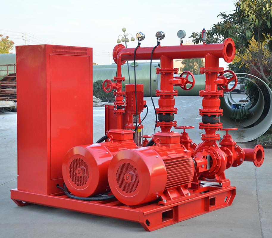 威尼斯平台登录SDL 10.0/15-2-GPM150  双动力消防泵,10kw大型双动力消防泵,消防泵示例图3