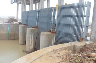 LWS型钢制拦污栅 泵站拦污栅 水电站拦污栅示例图6