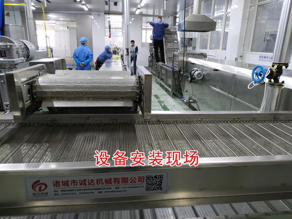 诸城市诚达千页豆腐机器 千页豆腐生产线机器 做千页豆腐的机器示例图8
