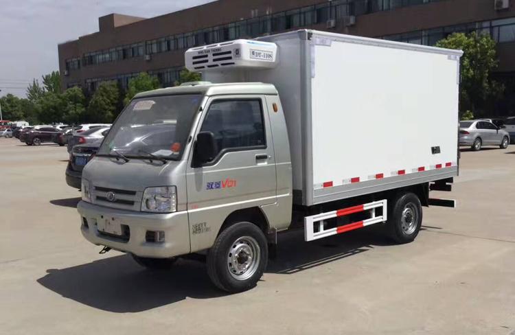 小型冷藏车,厢式冷藏车, 福田驭菱冷藏车,程力厂家示例图3