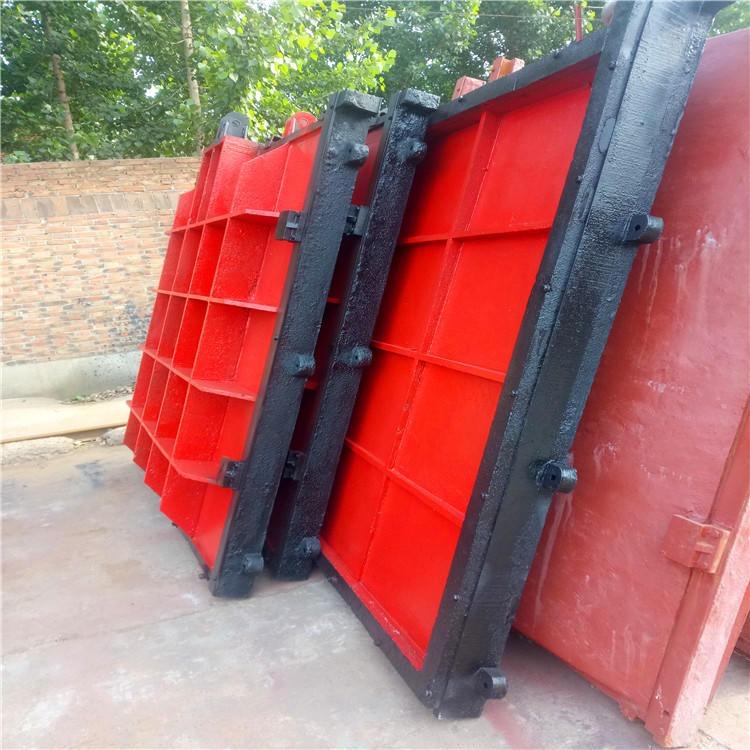专业生产 渠道铸铁闸门 污水铸铁闸门 泵站铸铁闸门 水库铸铁小闸门示例图10