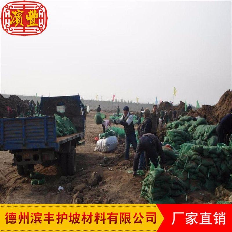 植草袋厂家 滨丰护坡专用植生袋 广东草种植生袋 绿色护坡袋 环保绿化植生袋示例图7