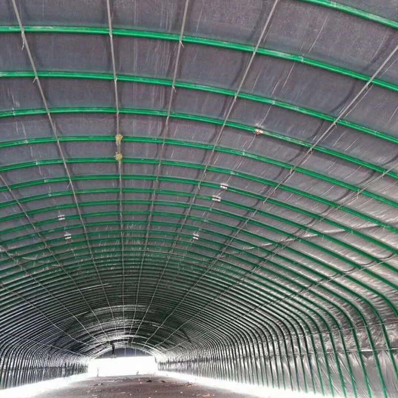冬暖式大棚建設 10米寬鋼架大棚造價 10米跨度大棚建造 832大棚 蔬菜大棚報價