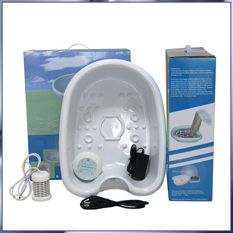 簡易款足浴盆一件代發養身館必備負離子排儀水毒療泡腳盆外貿熱銷款廠家直銷