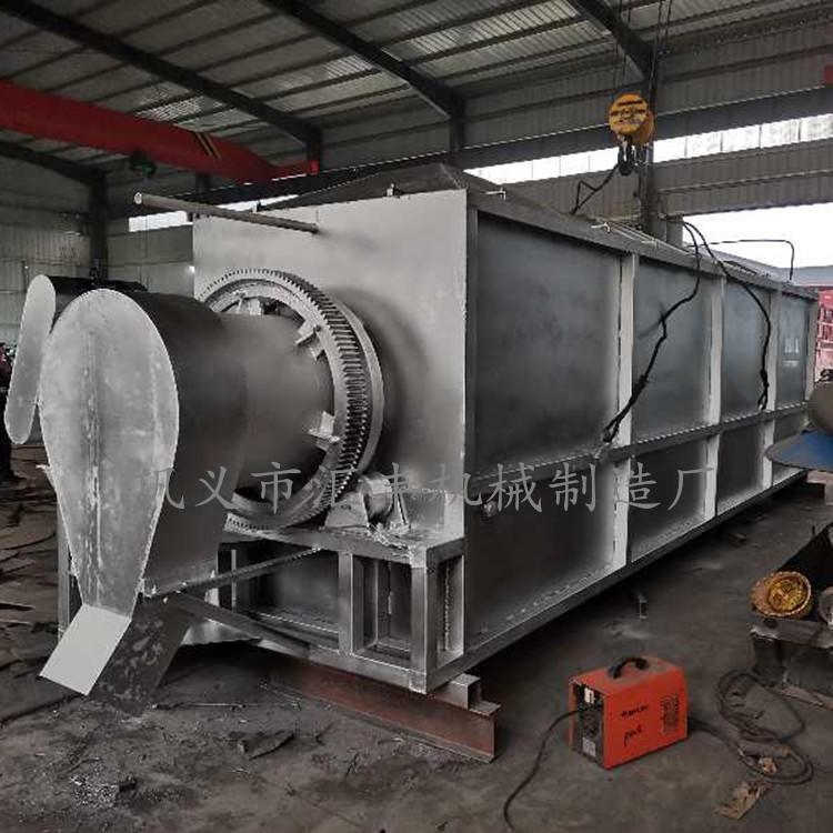 新型冷灰机图片 汇丰厂家供应高回收率铝渣冷却机设备
