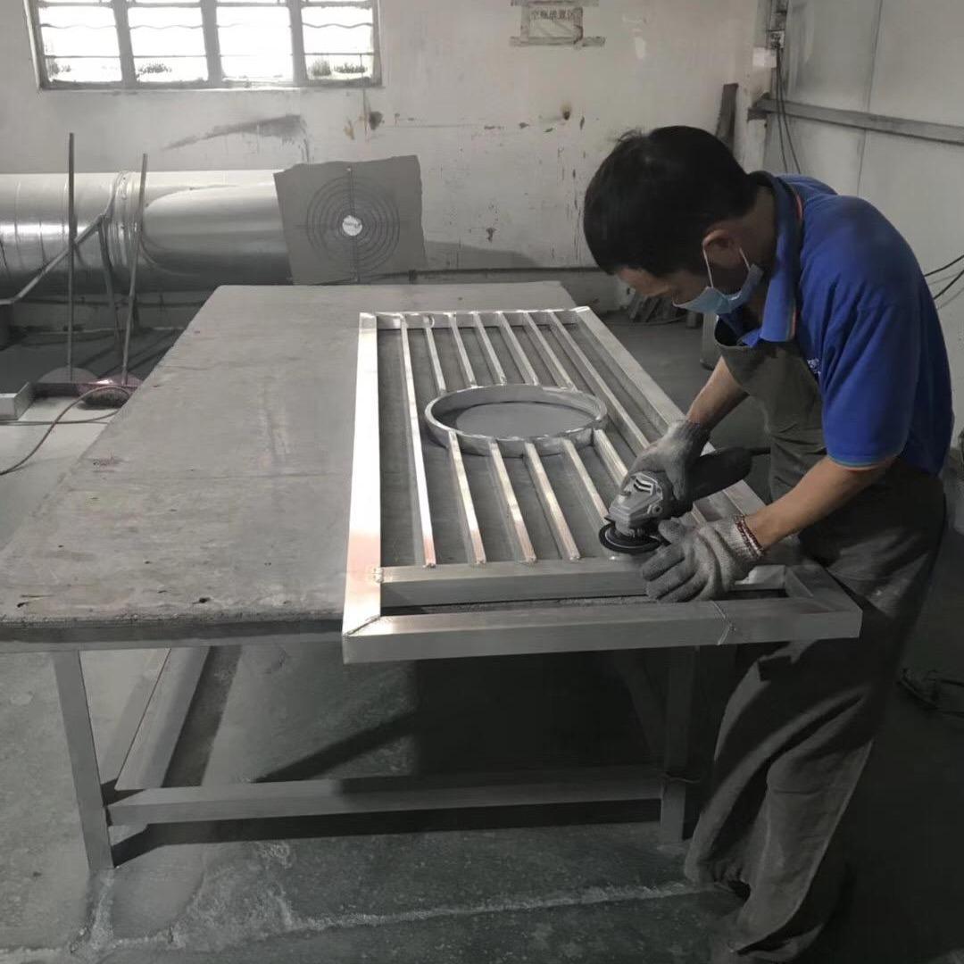 鄂州茶馆铝合金屏风供应