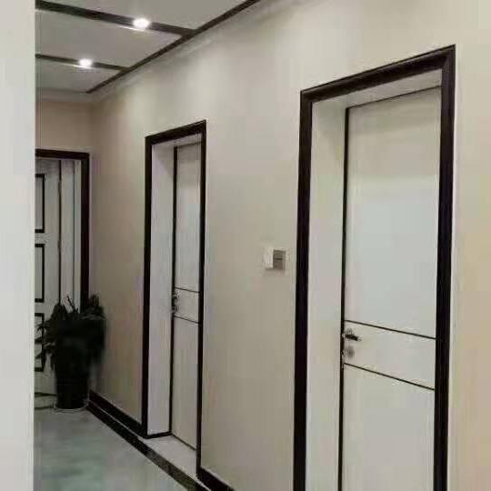 生態門  生態木門 雙包套門 批發平開門  醫院生態門廠家