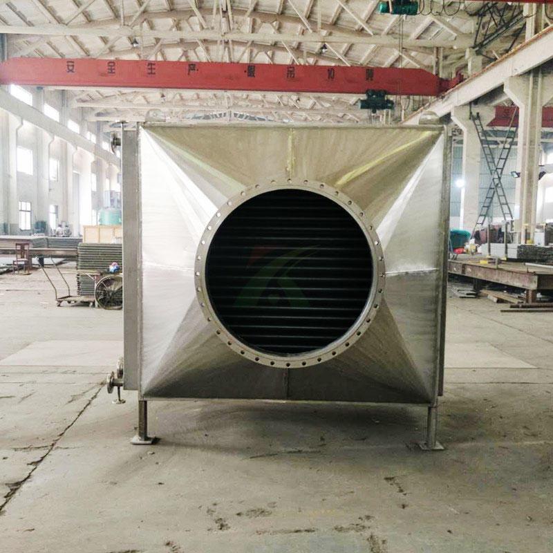 烟气换热器 锅炉节能换热器 烟道回收器 废热水回收换热装置 宽信直销