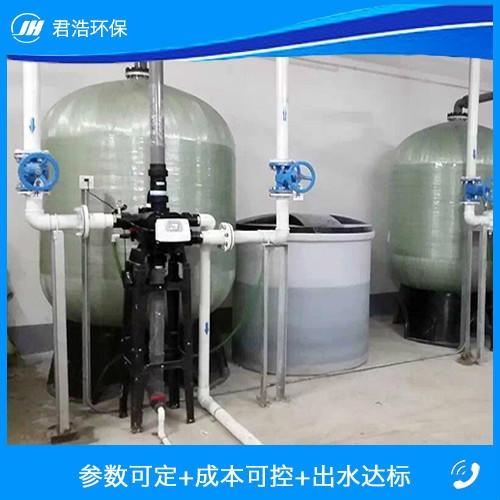 定制软水处理器 钠离子交换器 锅炉软水器 大型工业用软水处理设备服务周到图片