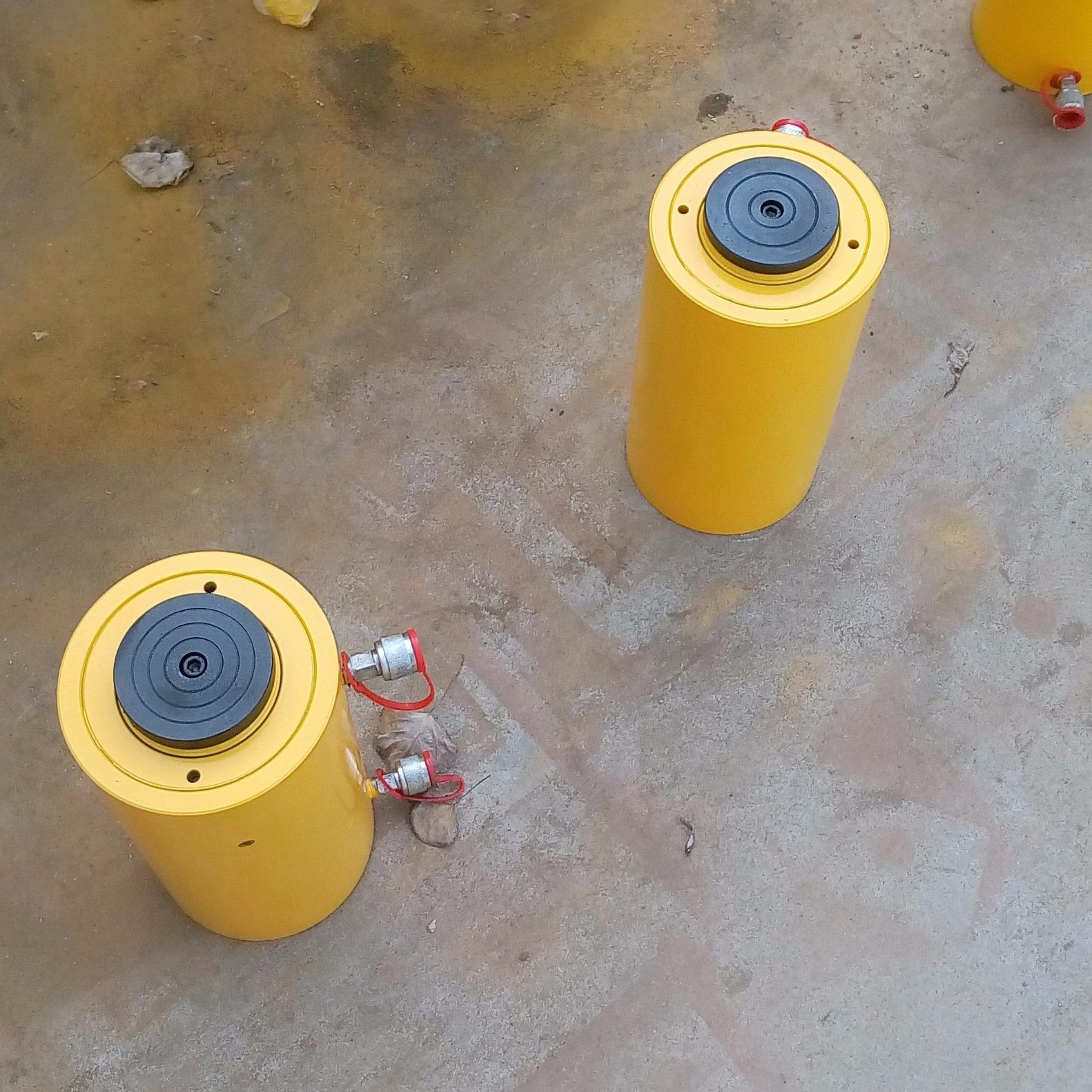 100吨液压千斤顶,100吨液压千斤顶,双作用千斤顶,大吨位千斤顶,分离式液压千斤顶