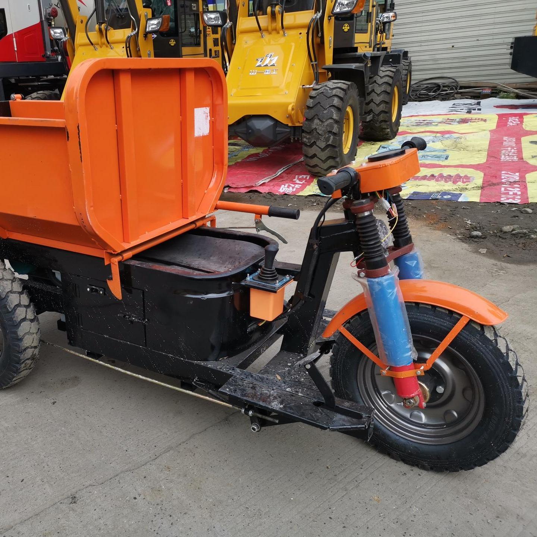 电动三轮车 工地转运电动三轮车 成都批发 72伏免维护电瓶三轮车