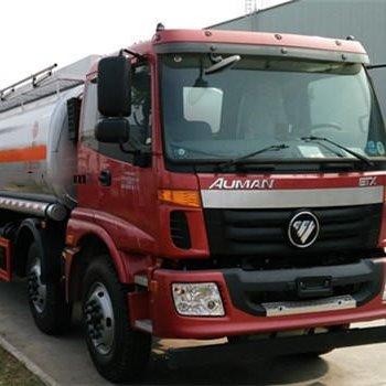欧曼三轴21方运油车,超低价20吨油罐车,前四后四油罐车