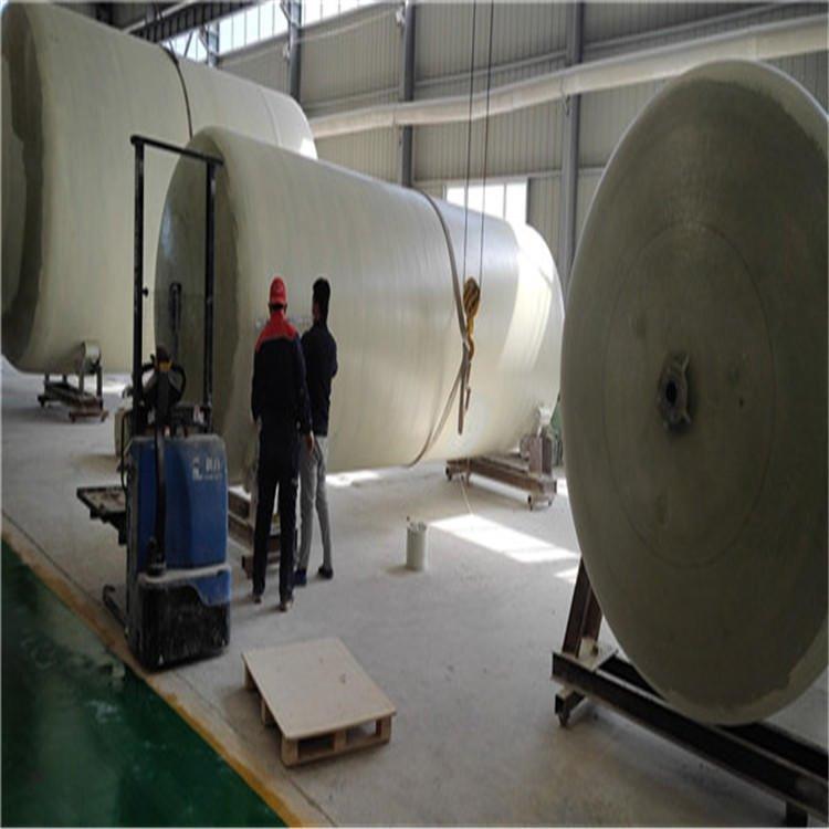 晋州玻璃钢罐厂家 盐酸循环罐安装 水洗分离罐单价