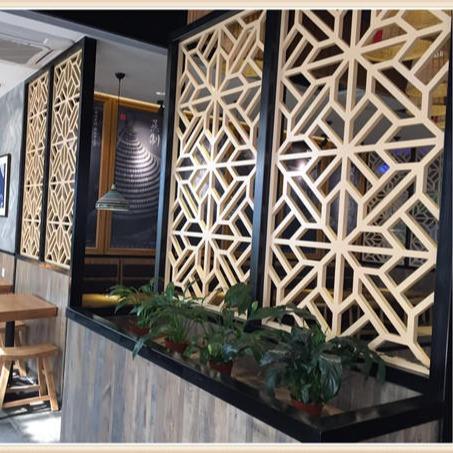 三门峡热转印铝屏风花格室内装饰