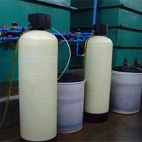 6吨锅炉软化水设备除水垢去钙镁离子锅炉软水器6吨离子交换软水器图片