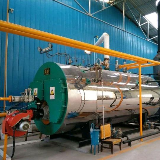 貴陽鍋爐廠家 供應WNS1 2 4 6噸臥式工業燃油燃氣蒸汽鍋爐價格