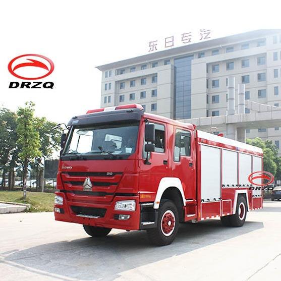 新東日重汽豪沃8噸消防車_價格_圖片_參數 _水罐消防車廠家直銷促銷優惠