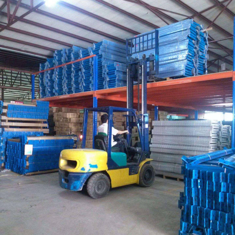 閣樓貨架鋼平臺 兩層閣樓可定制 倉庫拆建型重型貨架