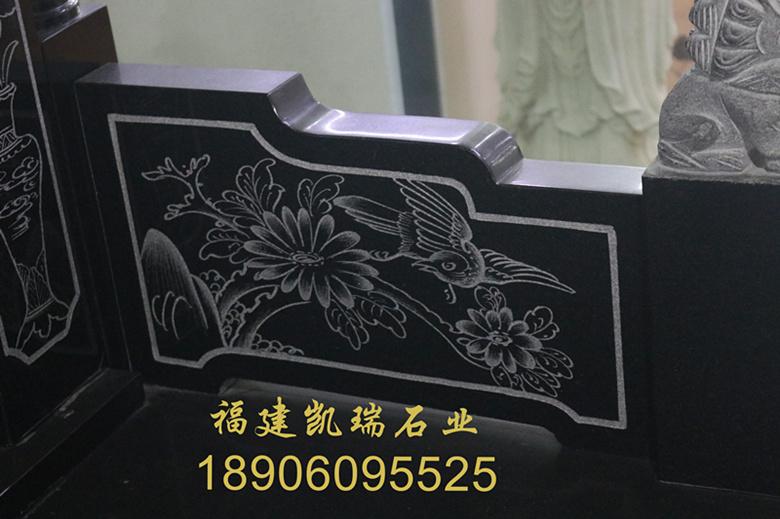 上海墓碑厂家直销山西黑墓碑 城市公墓墓碑 墓碑造型可支持定制示例图7
