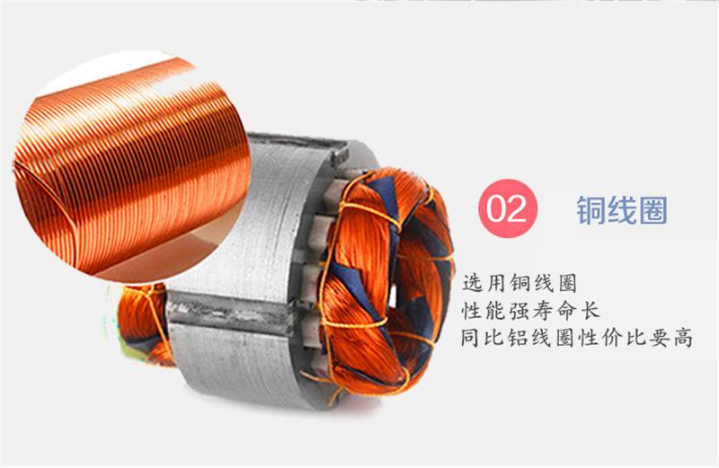 *CX-75A/0.75KW中压风机 燃烧机中压风机 燃烧机铝合金鼓风机示例图8