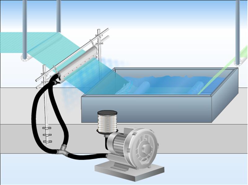 高精密铝合金风刀水滴式铝合金风刀玻璃吹水吹干专用风刀示例图11
