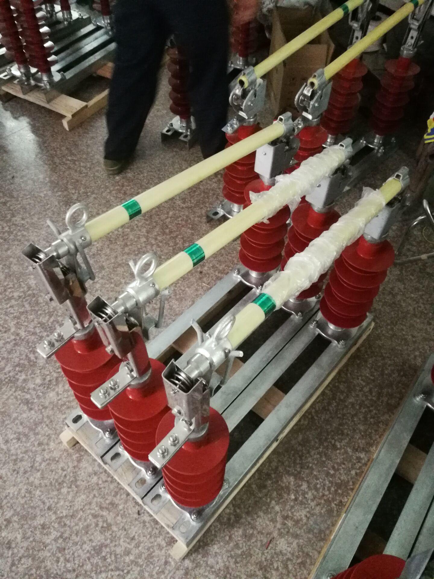 35KV户外防风型高压熔断器 HGRW1-35防风型跌落保险示例图3