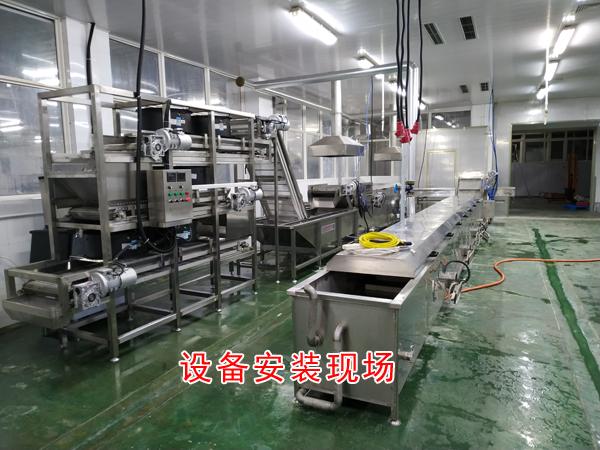 诸城市诚达鱼豆腐机器 成套鱼豆腐生产机器 鱼豆腐加工机器厂家示例图11