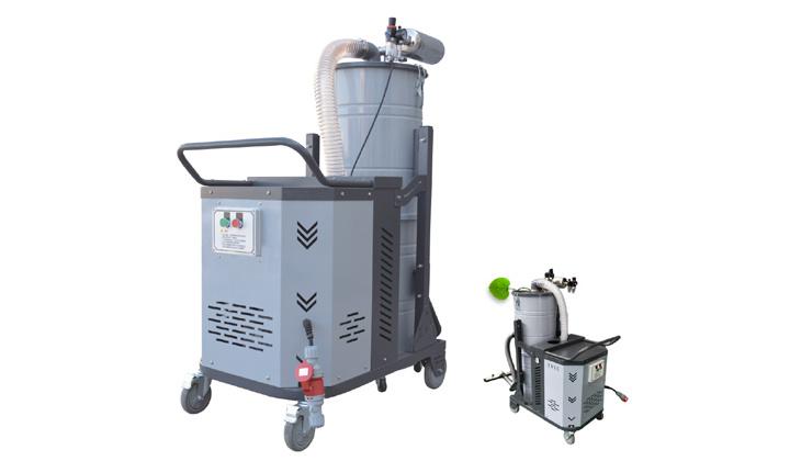 车间移动式吸尘器 清洁设备专用吸尘器 4KW加工零件粉尘吸尘器示例图1