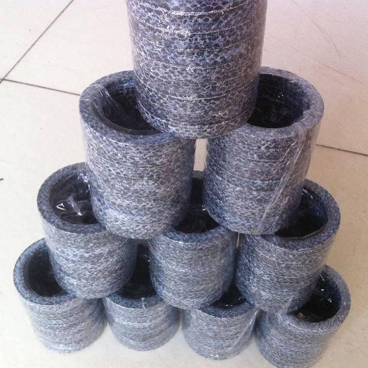 山东碳素纤维盘根专业生产厂家 碳素纤维盘根环规格齐全 碳素硅胶芯盘根正品低价示例图1