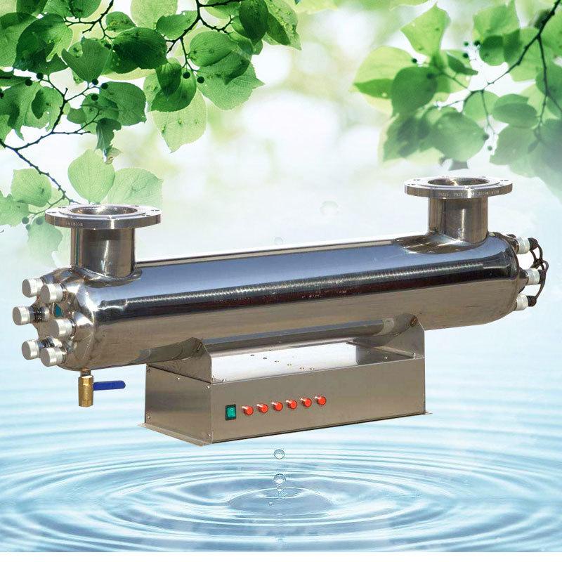 80W紫外线消毒器 8T/H紫外线杀菌器 过流式水处理杀菌通用设备示例图2