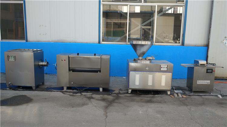哈尔滨红肠灌肠机 加工灌肠机肉肠灌肠机 可定制食品级304设备示例图8