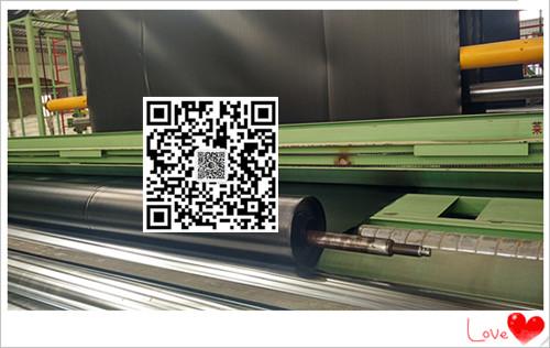 福州土工膜生产厂家直销高位池海水养虾hdpe防渗膜0.35mm美标黑色光面价格示例图2