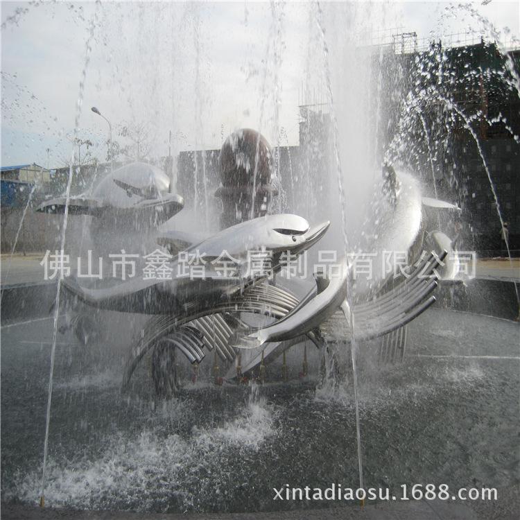 贵阳购物中心广场不锈钢雕塑专业生产厂家示例图14