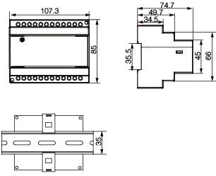 安科瑞,AMC系列,多回路監控裝置示例圖14