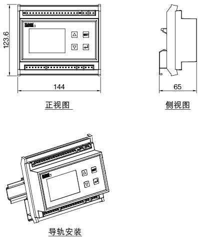 安科瑞,AMC系列,多回路監控裝置示例圖7
