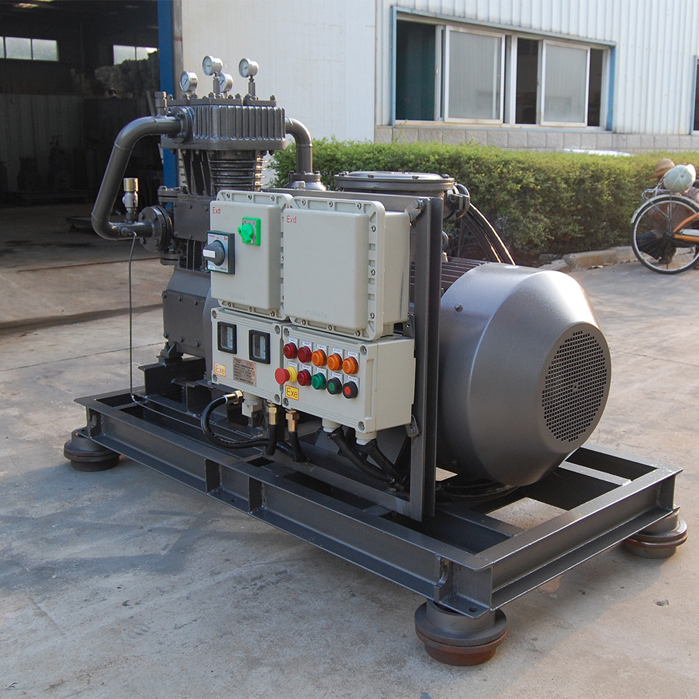 新型ZW-2.0/16-24氨氣壓縮機直聯 零泄漏安全可靠,液氨卸料用示例圖7