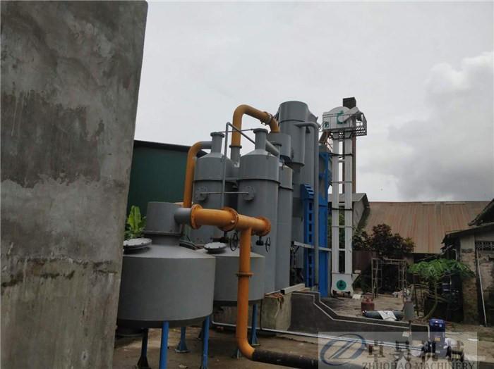 卓昊固定床生物質氣化爐直徑1.5-3米木塊氣化設備價格秸稈氣化爐價格示例圖12