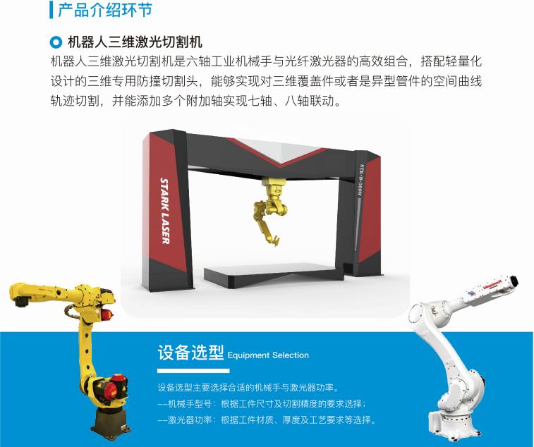 斯塔克机器人 光纤机器人切割机 三维激光切割示例图2