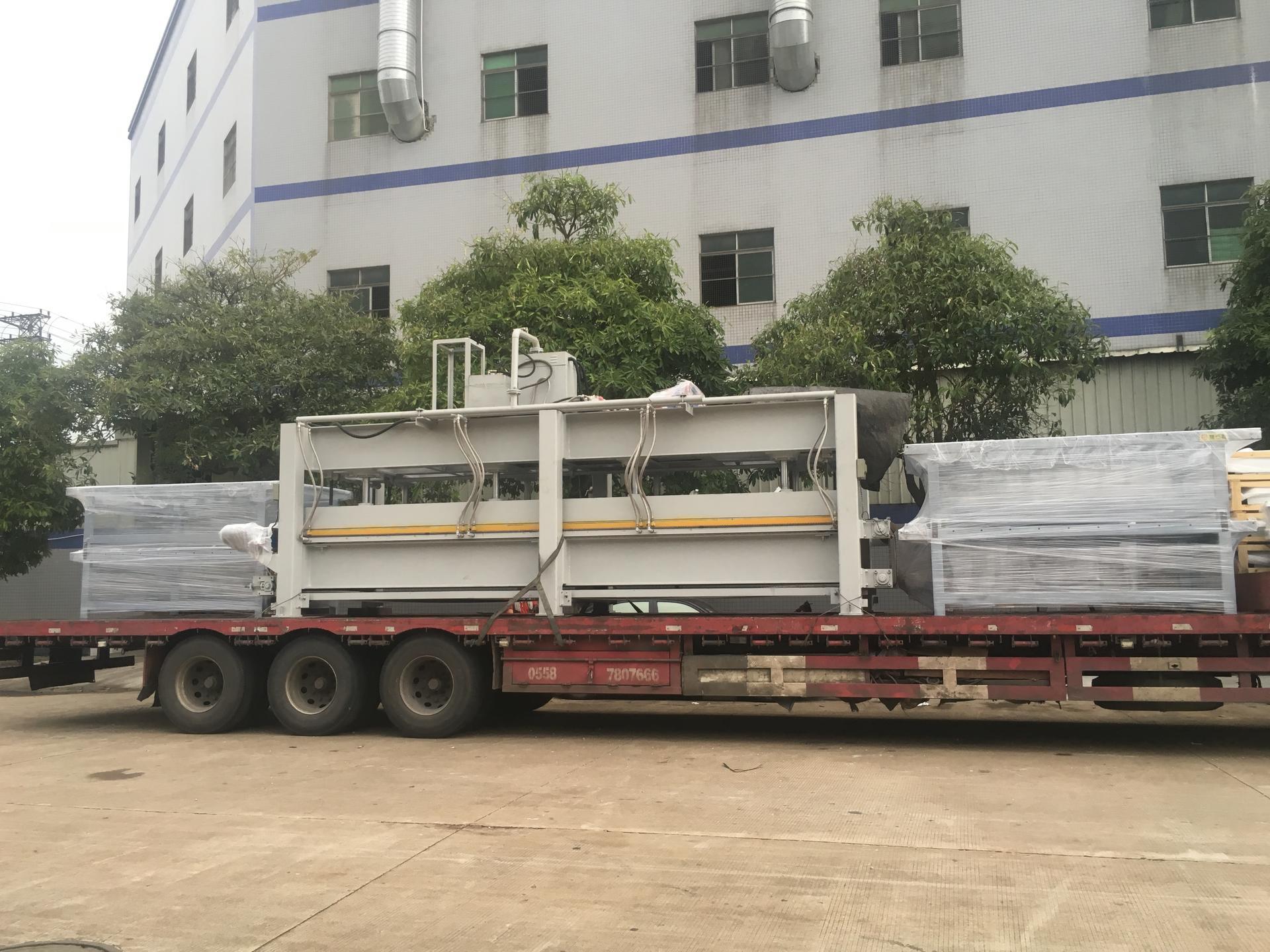 亨力特20噸整體衛浴復合熱壓機自動輸送線,熱壓機尺寸非標可以定制示例圖28