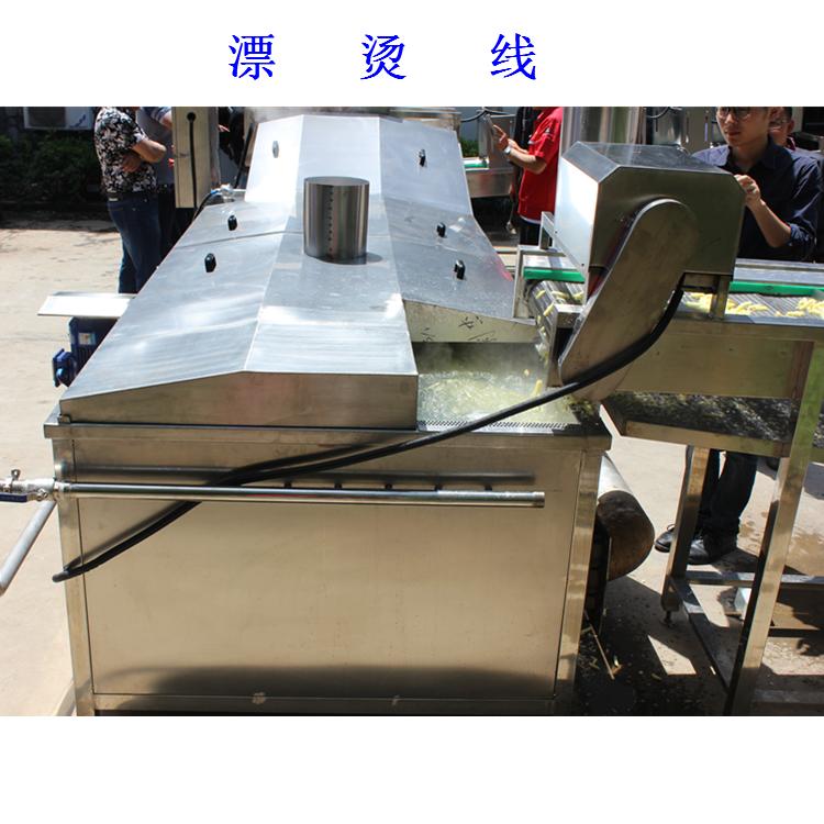 利杰LJ-5000速冻薯条油炸流水线/利杰自动刮渣不锈钢薯条成套油炸流水线示例图5